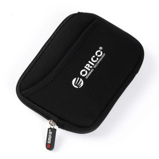 Orico 2.5 Soft Portable Hard Drive Protector Bag - Black